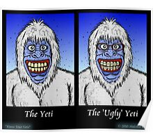 Know Your Yetis Poster