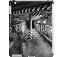 Steampunk - The steam tunnel iPad Case/Skin