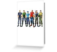 Alpha team Greeting Card