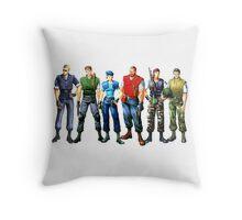 Alpha team Throw Pillow