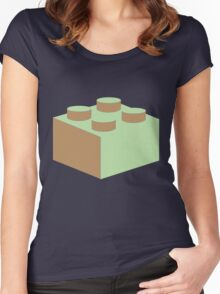 2 X 2 BRICK Women's Fitted Scoop T-Shirt