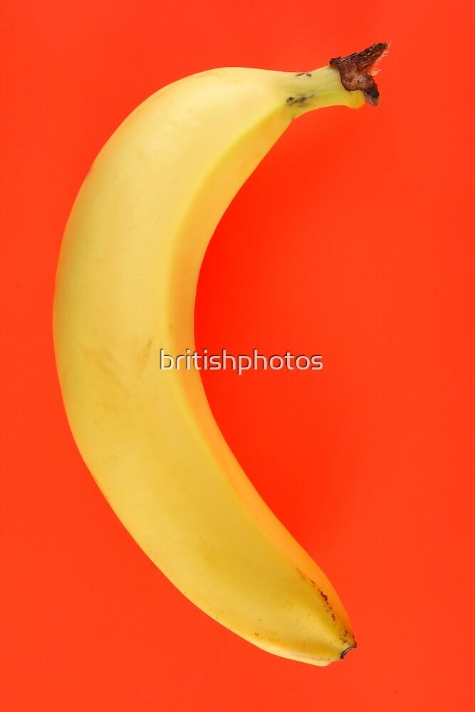 Yellow banana. by britishphotos