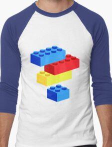 Bricks Men's Baseball ¾ T-Shirt