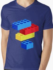 Bricks Mens V-Neck T-Shirt