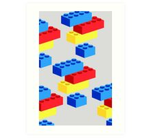 Bricks Art Print