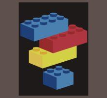 Bricks One Piece - Short Sleeve