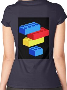 Bricks Women's Fitted Scoop T-Shirt