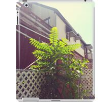 Green Plant Thing iPad Case/Skin