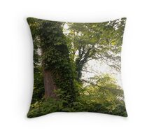 Forest Green Throw Pillow