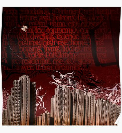 Urban Tagging - Dark City Poster