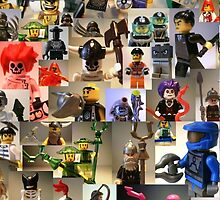 Minifigs by Chillee