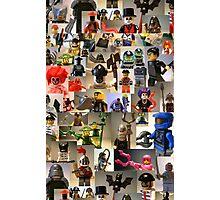 Custom Minifigure Collage  Photographic Print