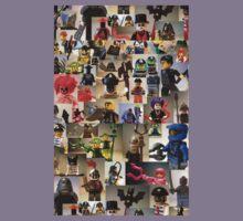 Custom Minifigure Collage  Kids Clothes