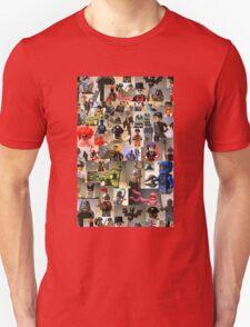 Custom Minifigure Collage  Unisex T-Shirt