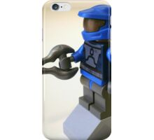 Blue Spartan Soldier Custom Minifig iPhone Case/Skin