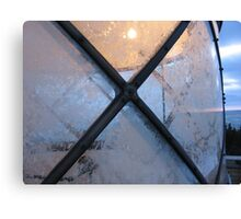 Frosted light Canvas Print