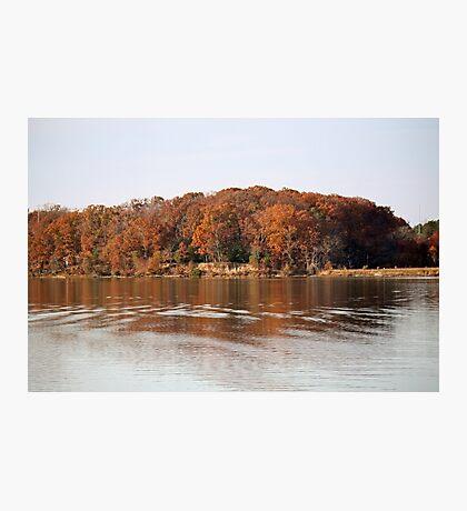Autumn Bank Photographic Print