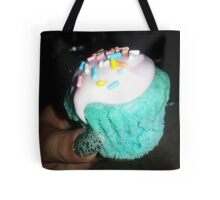 Colorful Cupcake with Sprinkles Tote Bag
