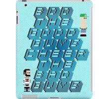 Boo The Good Guys, Cheer The Bad Guys iPad Case/Skin