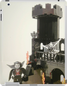 Horror Castle with Ghost Minifig by Customize My Minifig