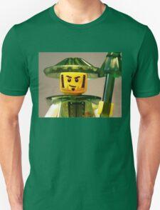 Ching Dynasty Chinese Warrior Custom Minifig Unisex T-Shirt