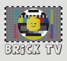 Brick TV Test Transmission  by Customize My Minifig