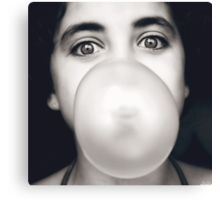 Bubble but not Red :) Canvas Print