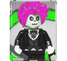 Evil Magician Custom Minifigure with Magic Wand & Snake iPad Case/Skin