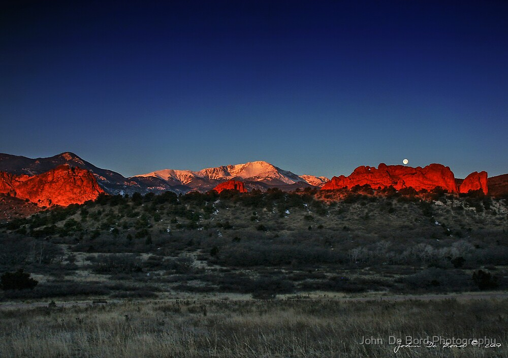 A Morning in God's Country by John  De Bord Photography