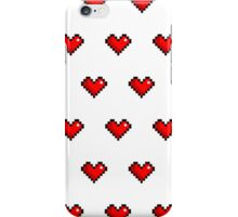 Pixel Heart Pattern iPhone Case/Skin