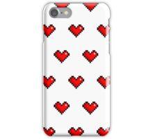 Pixel Heart Pattern iPhone Case/Skin