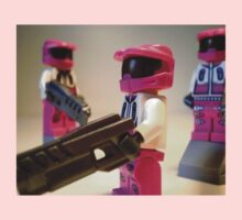 Halo Wars Pink Spartan Soldier, Custom Minifigure Kids Clothes