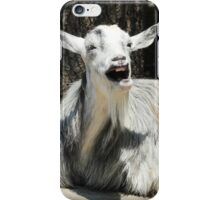 Laughing Goat iPhone Case/Skin