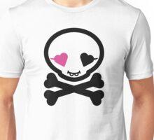 Mikoto Skull Black&Pink T-Shirt
