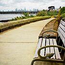 Beach Bench by Chris Annable