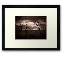 Ocean of Memories    Framed Print