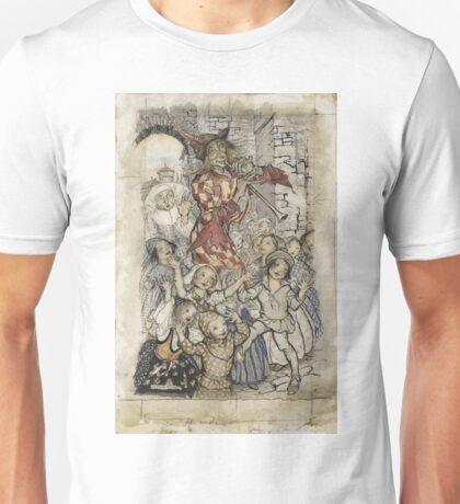 Arthur Rackham - The Pied Piper And The Children Unisex T-Shirt