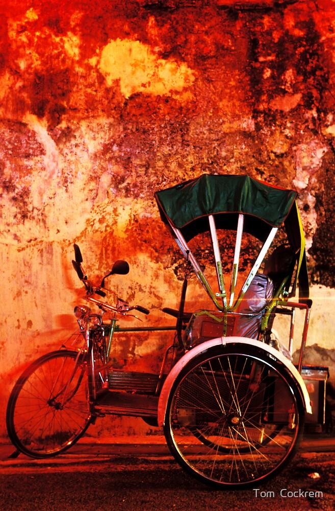 rickshaw by Tom  Cockrem