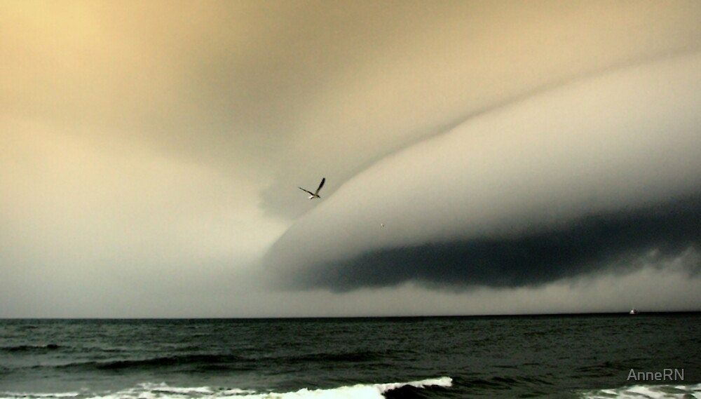 Weird Clouds by AnneRN