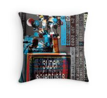 Super Scientists Flyer24/01/2003 Throw Pillow