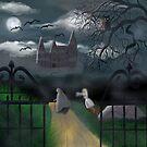 Moonlit Castle by Miriam Talavera