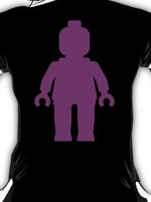 Minifig [Large Purple]  T-Shirt