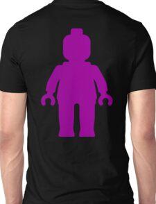 Minifig [Large Purple]  Unisex T-Shirt