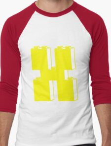 THE LETTER X by Customize My Minifig Men's Baseball ¾ T-Shirt