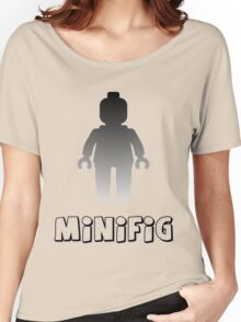Minifig [Silver] Women's Relaxed Fit T-Shirt