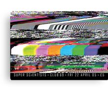Super Scientists Flyer 22/04/2005 Canvas Print