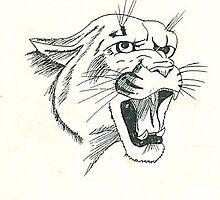 blanco panther by SadieRose