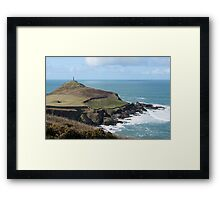 Cape cornwall and the sentinel. Framed Print