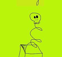 Skull Box by DELAVALLEcards