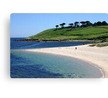 Pelistry beach. Canvas Print